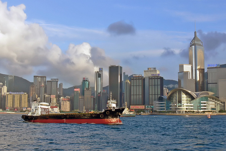 Hongkong City harbour2